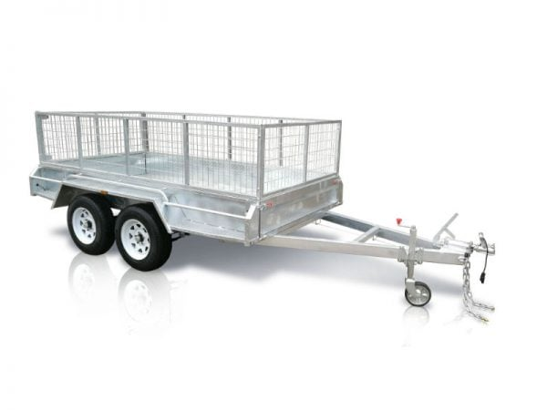 10x5 ft tandem box trailer