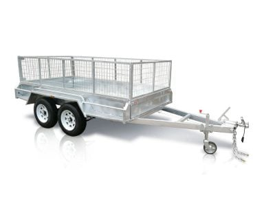 10x6 ft tandem box trailer
