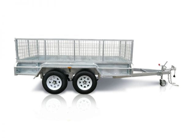 12x6 ft tandem box trailer
