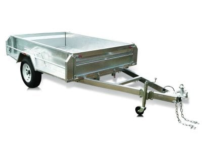 8 x 5 ft Premium Hi-Side Box Trailer with 600mm Cage