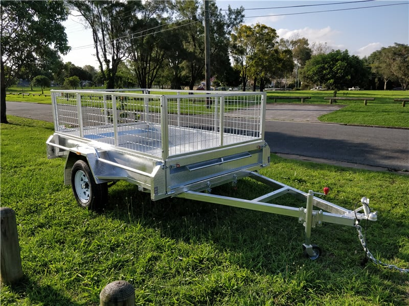 7 x 4ft Premium Box Trailer
