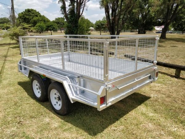 Premium HD Tandem Box Trailers