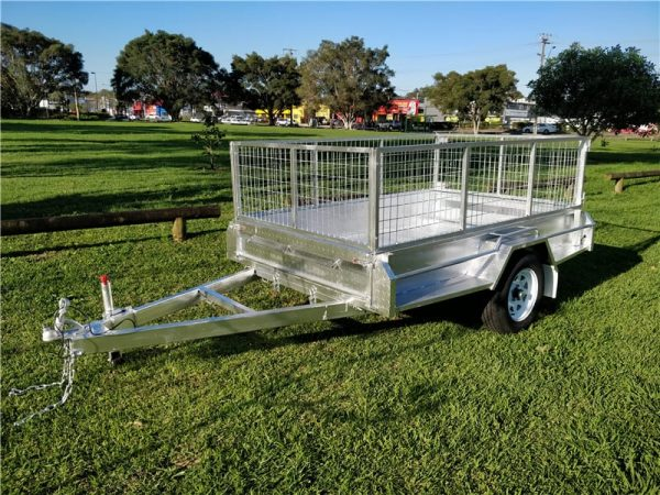 Premium Heavy Duty Box Trailer