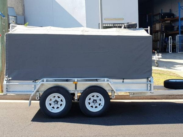 Dual Axle Canvas Cover