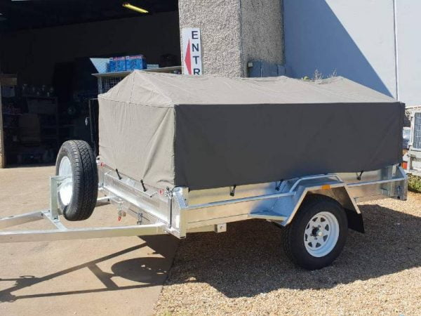 Single Axle Canvas Cover
