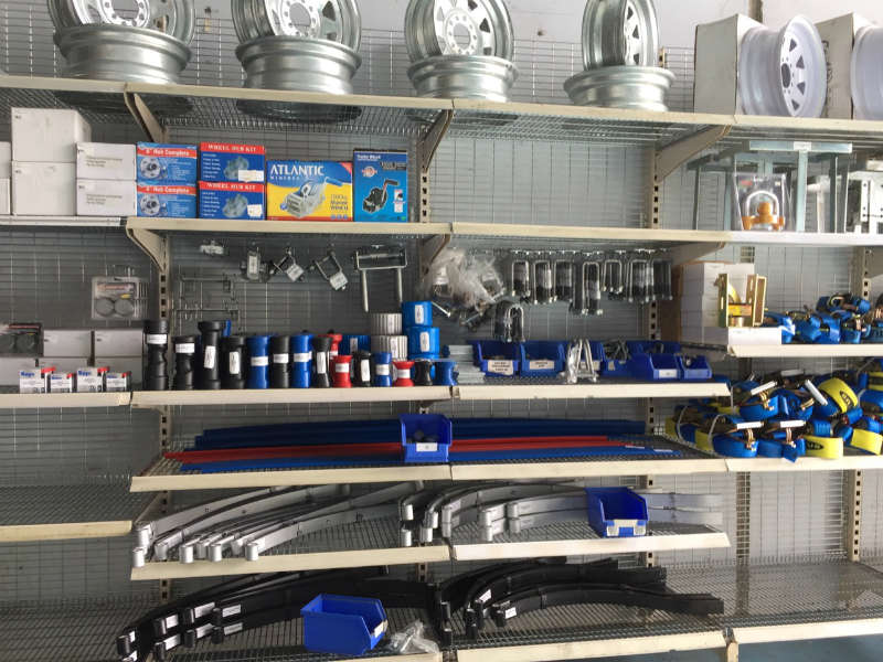 Trailer Spare Parts Available
