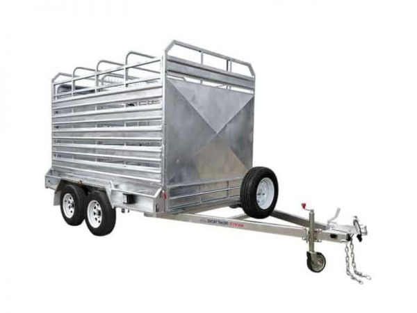 10 x 6 ft Cattle Float Trailer - ATM 3500kg