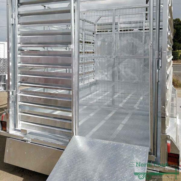 10 x 6 ft Cattle Float Trailer - ATM 3500kg