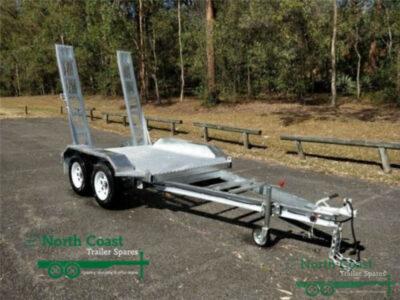 7 x 5 ft Tandem Bobcat / Loader Trailer - ATM 2900kg