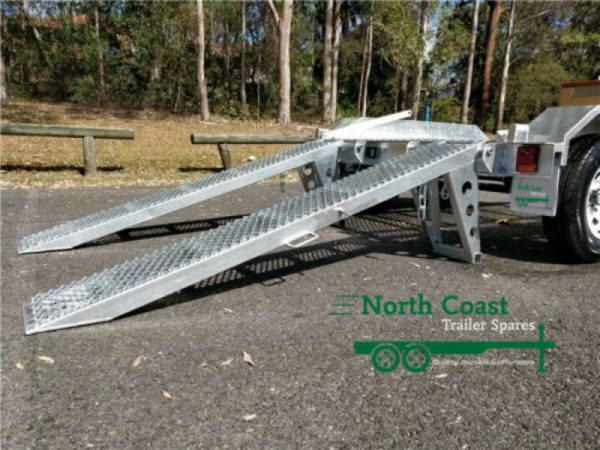 7 x 5 ft Tandem Bobcat / Loader Trailer - ATM 2900kg