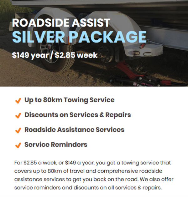 Trailer Roadside Assist - Silver Package