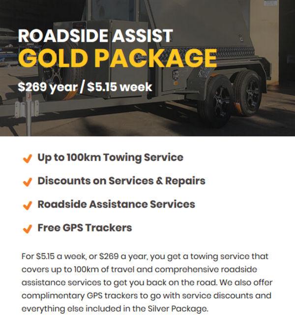 Trailer Roadside Assist - Gold Package