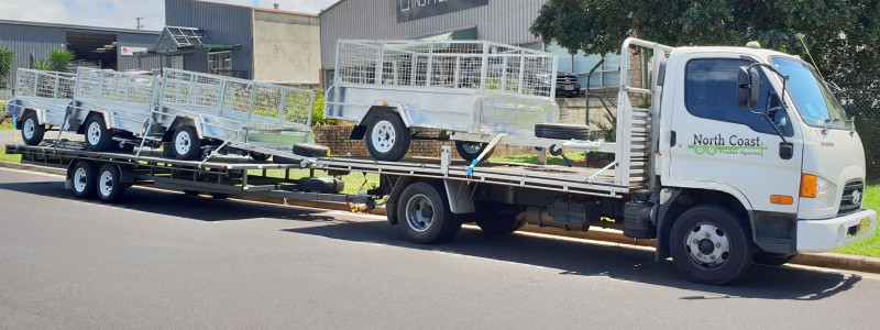 Trailer Delivery North Coast Trailer Spares