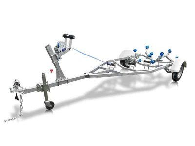 3.5m to 4.0m Boat Trailer with Wobble Rollers - ATM 750kg