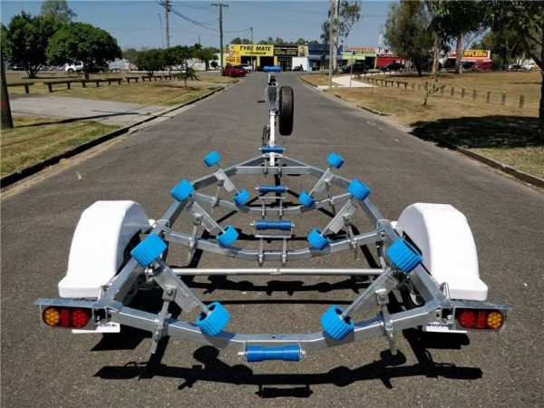 4.0m to 4.5m Boat Trailer with Wobble Rollers - ATM 750kg