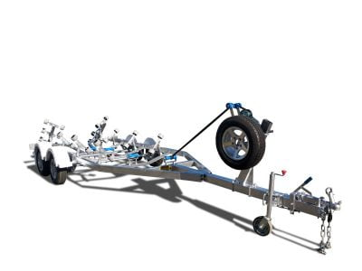 6000m Boat Trailer with Wobble Rollers ATM 2000kg