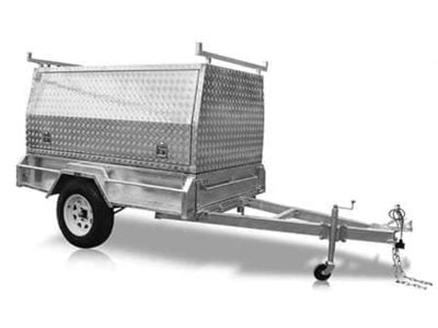 7 x 4ft Tradesman Trailer