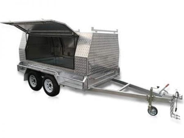 8x5ft Tandem Tradesman Trailer