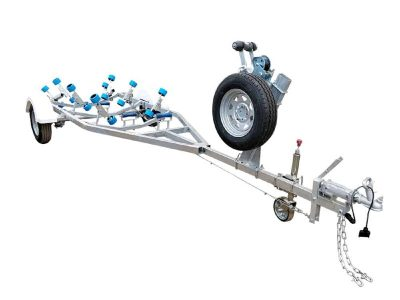 4.0m to 4.5m Boat Trailer with Wobble Rollers - ATM 1200kg