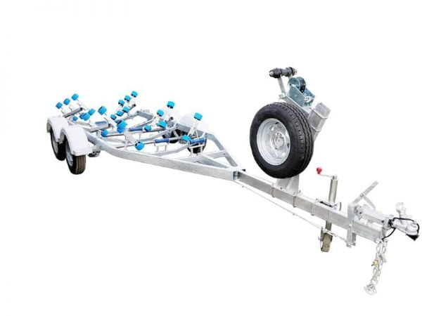 Boat Trailer with Wobble Rollers 2000kg