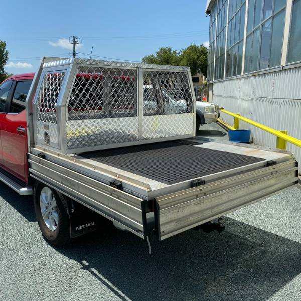 2 Door Aluminium Dog Cage Gullwing Tool Box