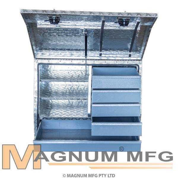 Aluminium 5 Drawer Tool Box - 960mm